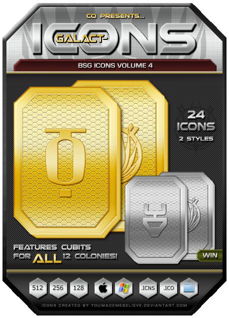 BSG Icons Vol 4 by CQ - Win by BSG75