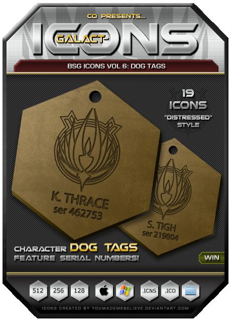 BSG Icons Vol 6 by CQ - Win by BSG75