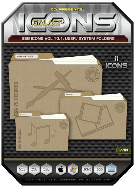 BSG Icons Vol 10.1 by CQ - Win by BSG75