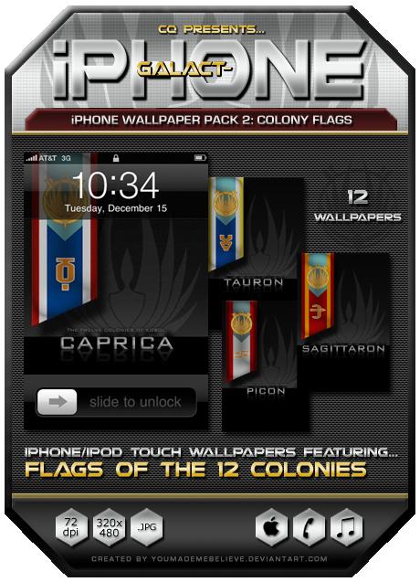 bsg wallpaper. BSG iPhone Wallpaper Pack 2: