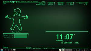 Pip Boy 4000 1366x768 [Back in development]
