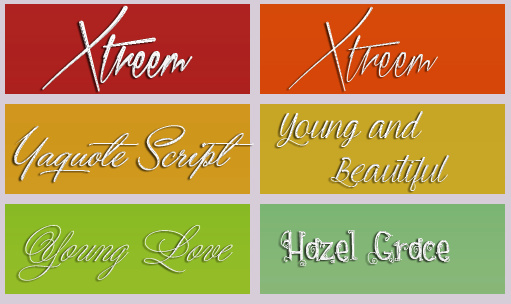 Fonts FAG 30 by FallenAngelGraphics