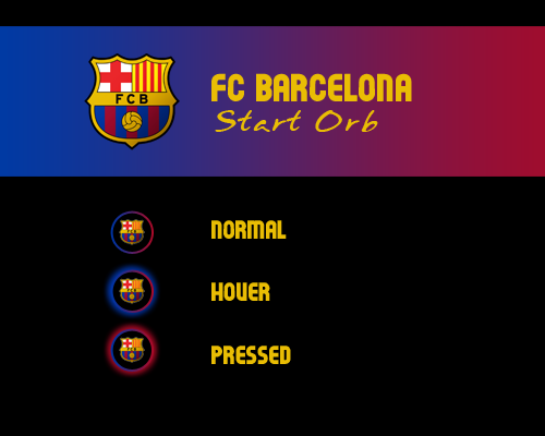 Fc barcelona start orb by 7thedevil7 on deviantart for Door to windows