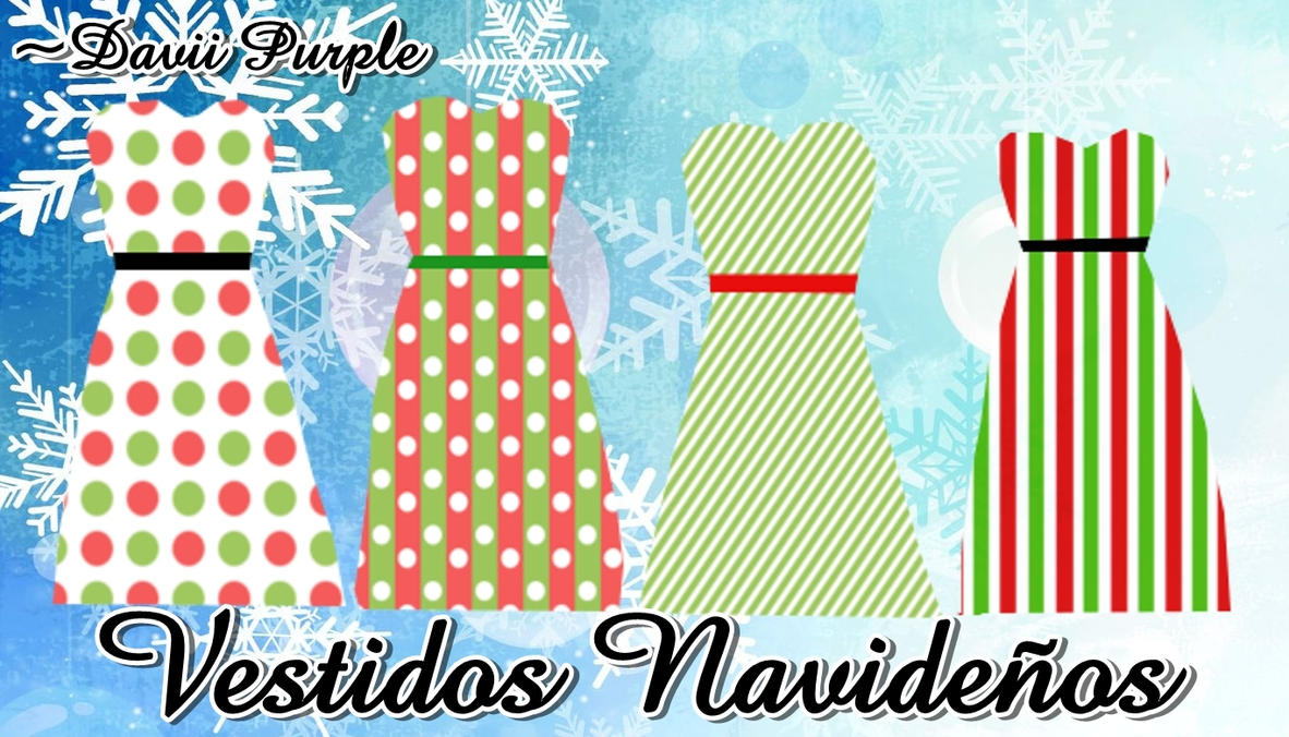 Vestidos Navide-os by Daviipurple