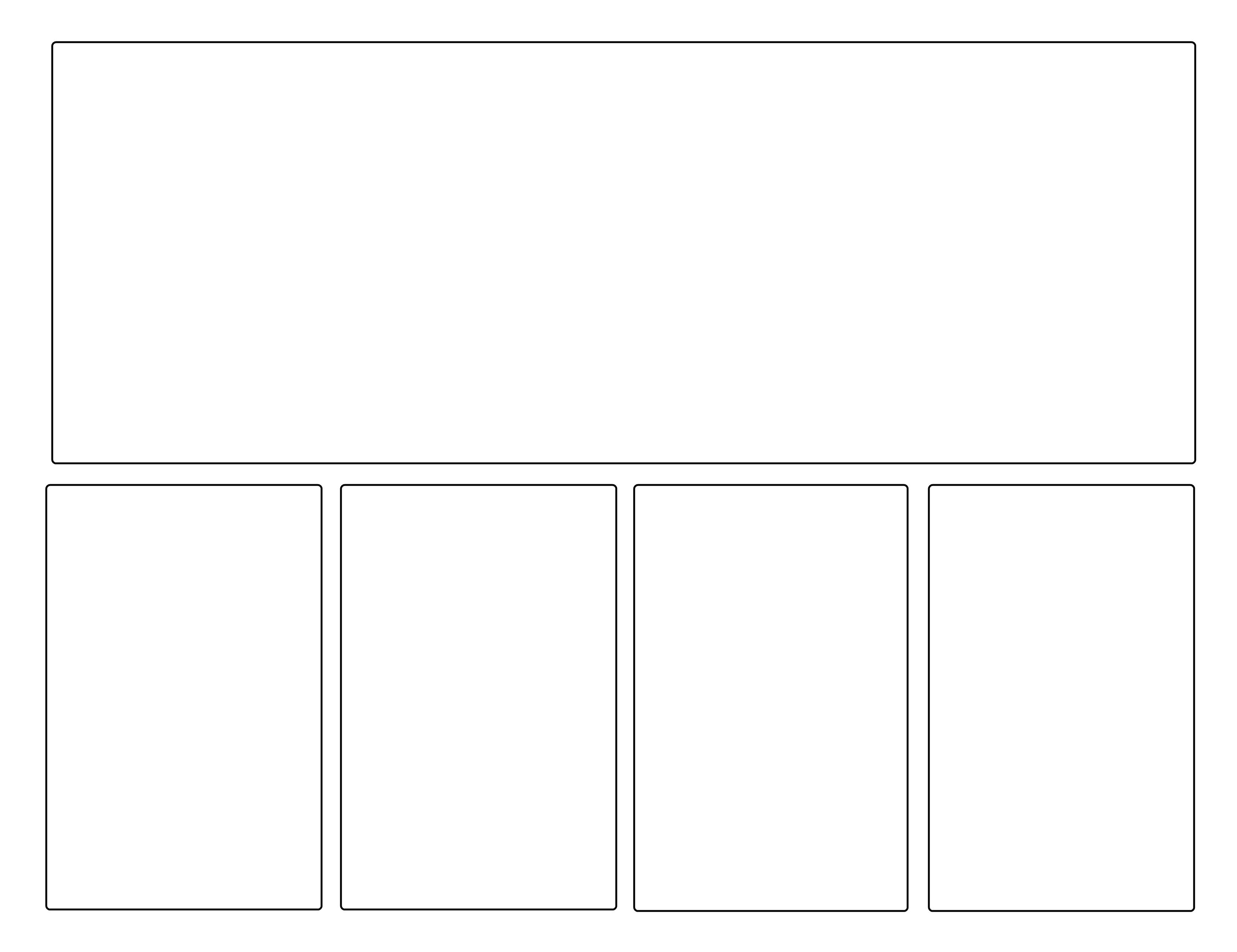 Comic strip panel templates by angelandchangeling on for Make your own comic strip template