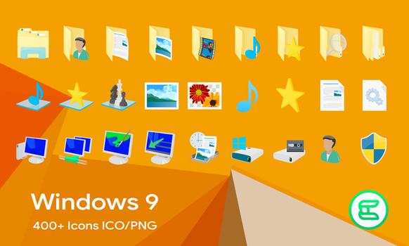 Windows 9 Icons