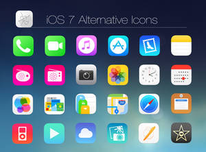 iOS 7 Alt Icons
