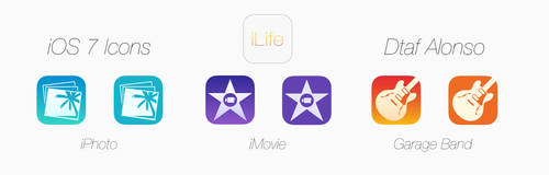 iLife icons by dtafalonso