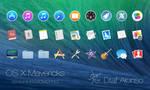 OS X Mavericks icons