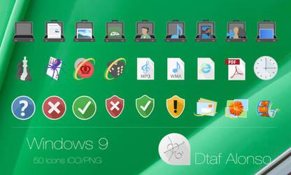 Windows 9 Icons #2