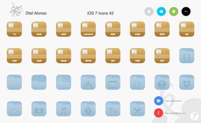 iOS 7 Icons #2