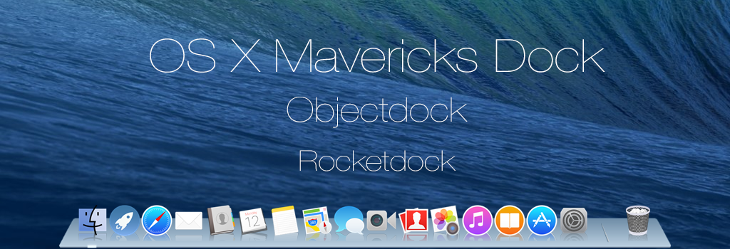 OS X Mavericks Dock by dtafalonso on DeviantArt