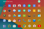 Kitkat Flat Icons by EatosDesign