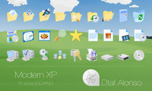Modern XP icons by dtafalonso