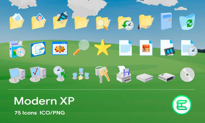 Modern XP icons
