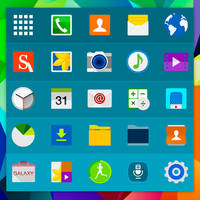 Galaxy S5 Material Icons