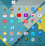 Android L Flat Icons