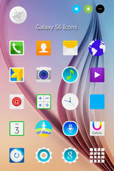 Galaxy S6 Icons by dtafalonso
