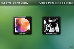 Bubbly for CD Art Display