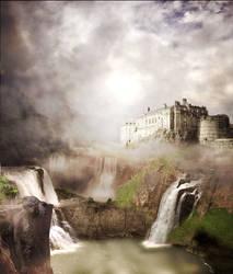 Waterfall Fantasy by shaiyakat