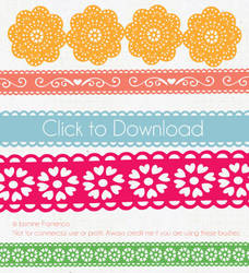 Lace Illustrator Brush by jassymonster
