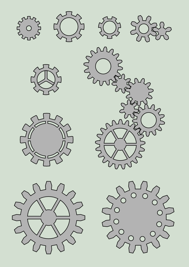 gear wheels stock by adoomer on deviantart