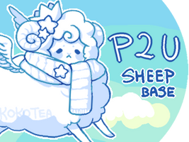 kawaii sheep base (no longer for sale)