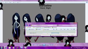 Marceline Shimeji by Melc1010