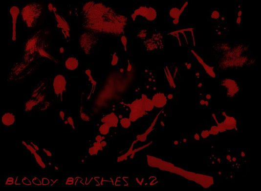 Bloody brushes v.2 by J-Chan by unholyxangel