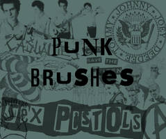 Punk Brushes. by agshx