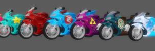 Textured Honda Motorcycle Pack