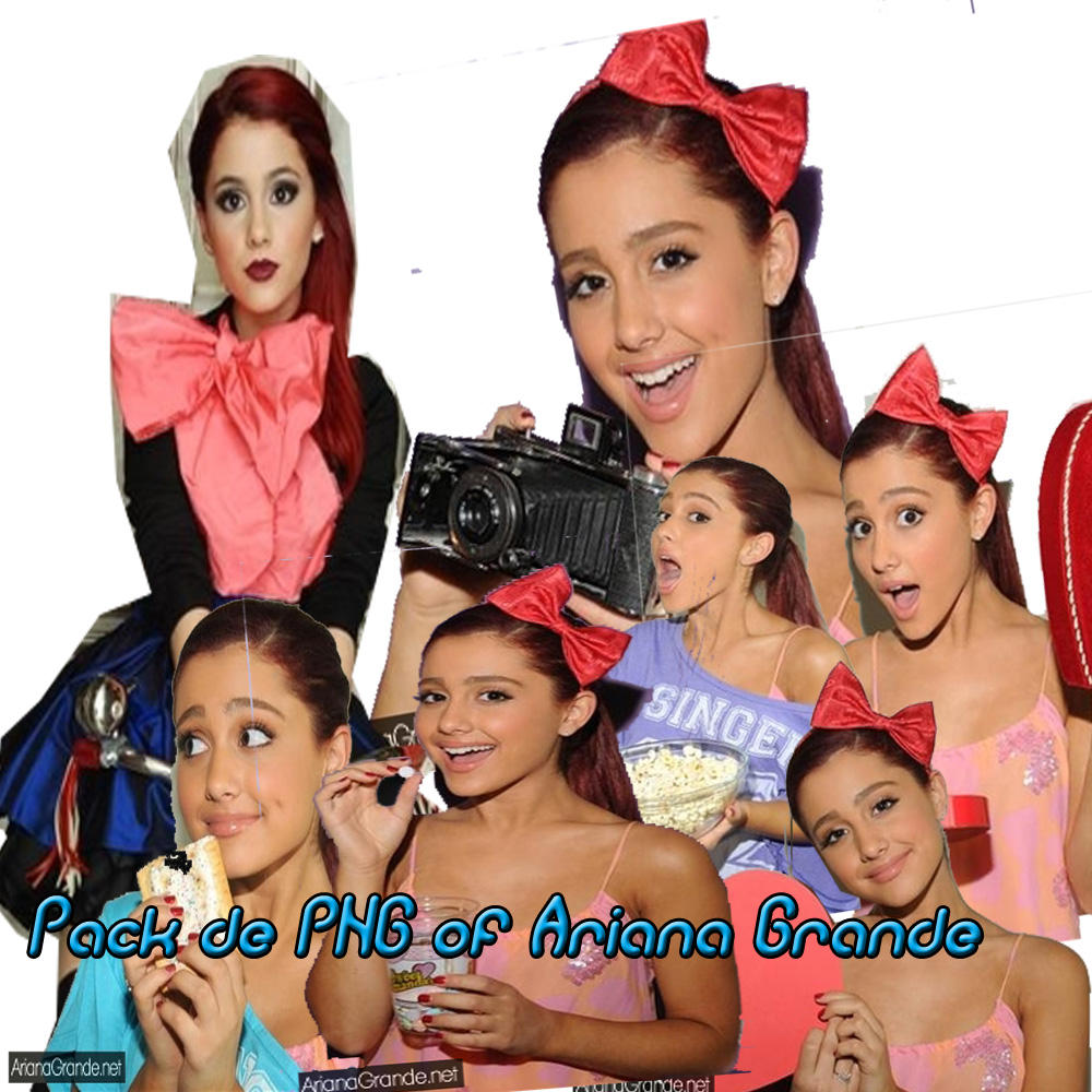 Pack de PNG de Ariana Grande