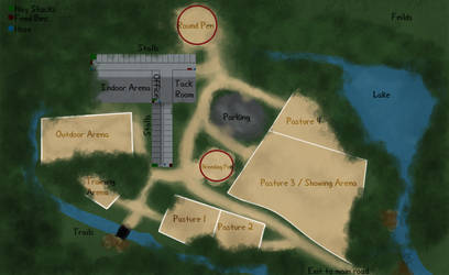 Map of Greenwood Stables by BlazedStables