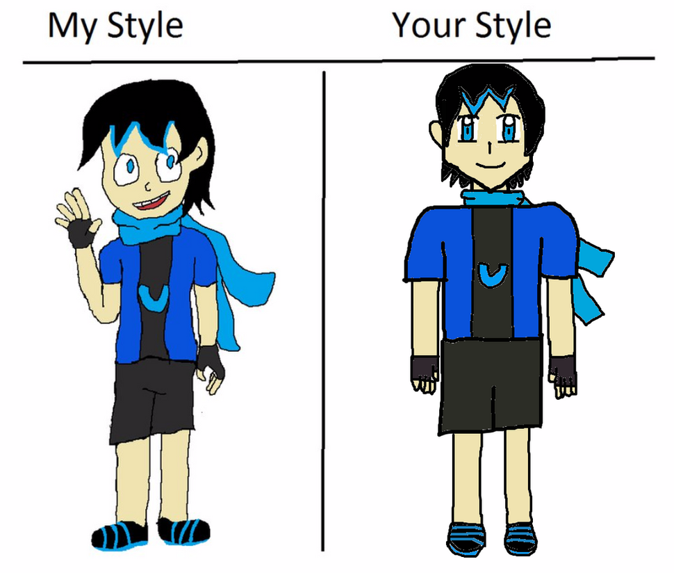 AidenLunarLight's Style Meme by Willy276