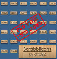 Scrabblicons by ctro82