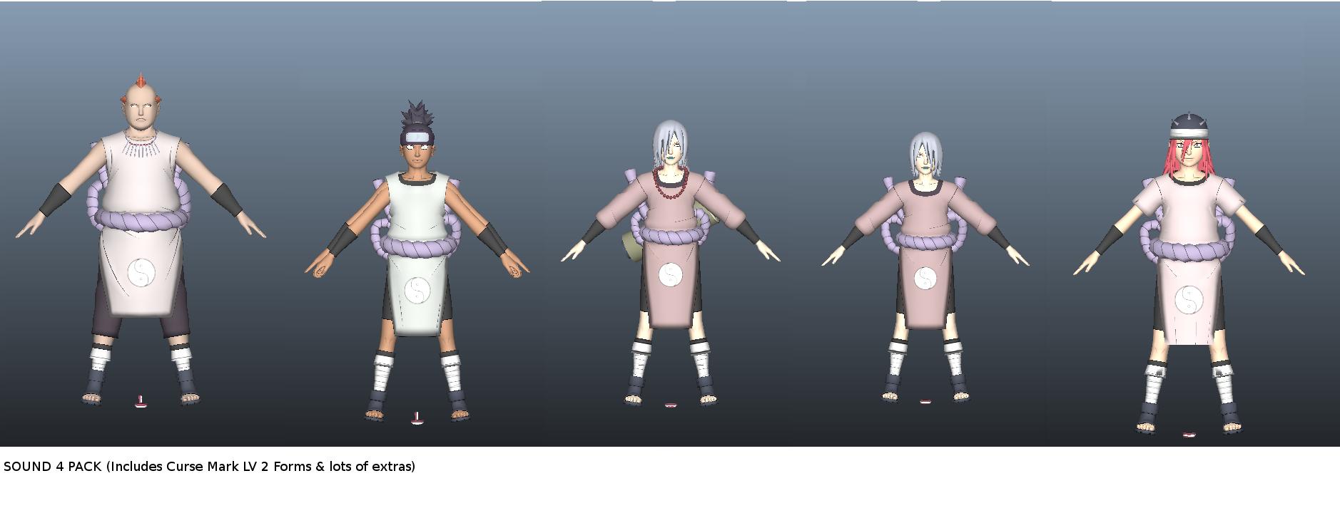 Sound naruto four hentai