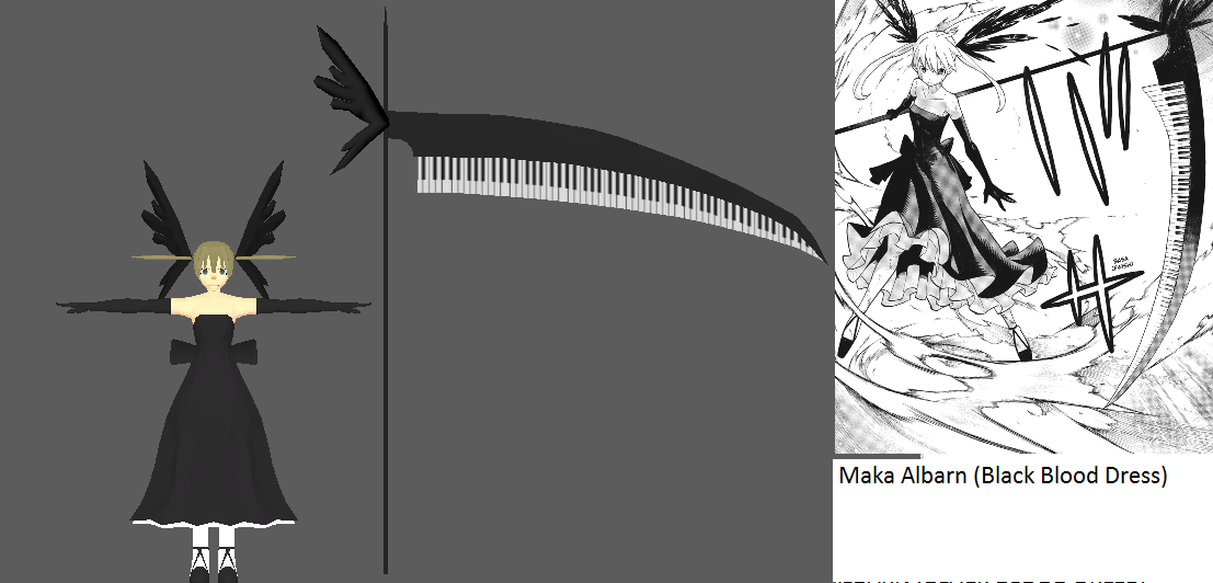 Maka Albarn Black Blood Armor By Chakrawarrior2012 On