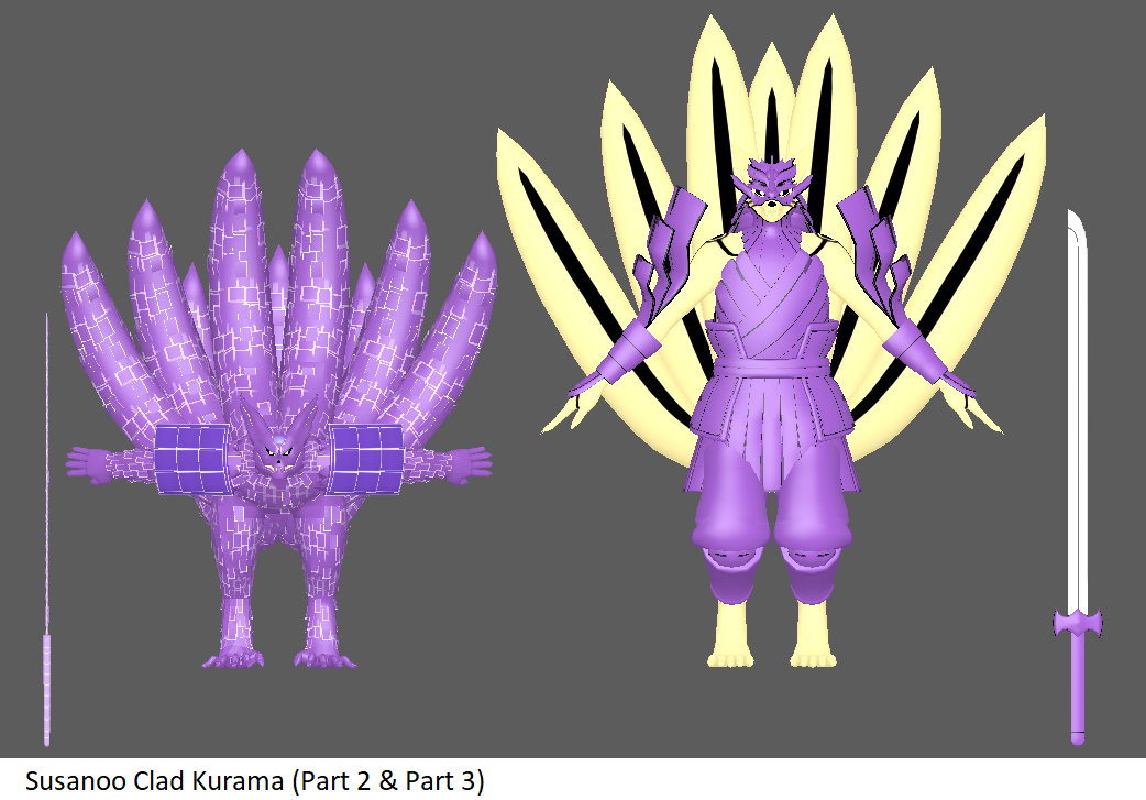 Naruto Chakra Mode Vs Sasuke Susanoo By Toonager Deviantart