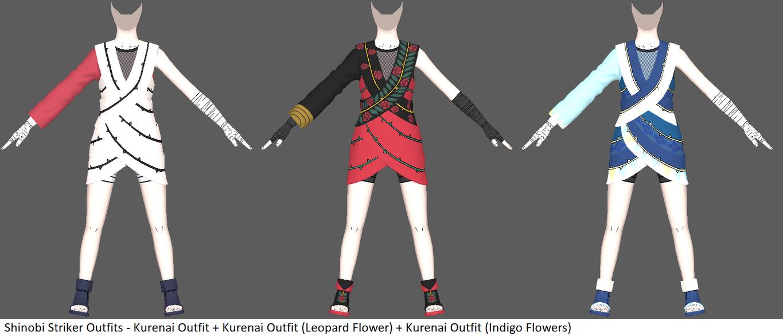 Shinobi Striker Outfit - Kurenai by ChakraWarrior2012