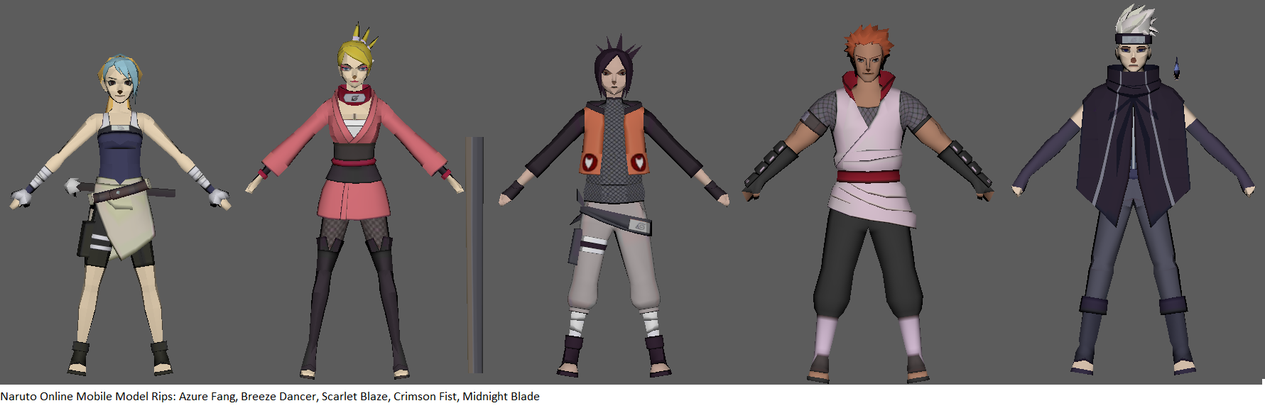 Naruto Online Avatars (Part 1) - static by ChakraWarrior2012