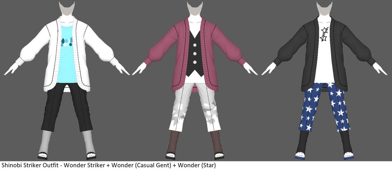 Shinobi Striker Outfits - Wonder Striker by ChakraWarrior2012
