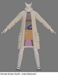 Shinobi Striker Outfit - Anko Mitarashi