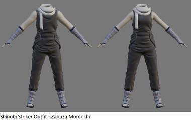 Shinobi Striker Outfit - Zabuza