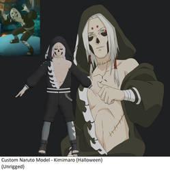 Custom Naruto Model - Kimimaro (Halloween)