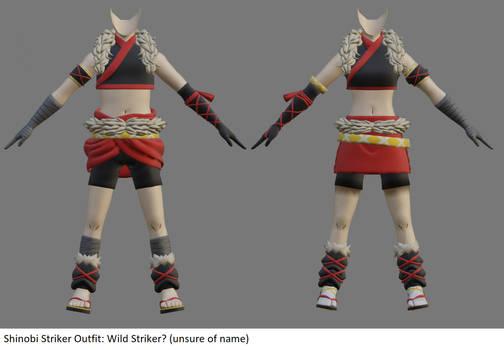 Shinobi Striker Outfit - Wild Striker