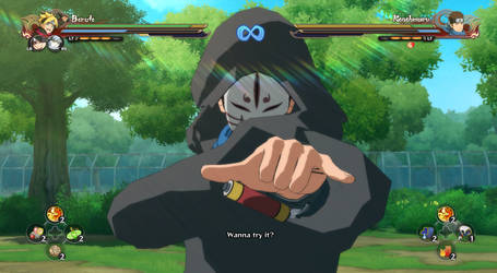 Storm 4 mod attempt - Konohamaru Sarutobi (Anbu)