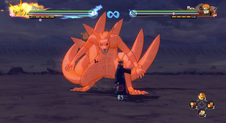 Storm 4 attempt (8 Tailed Naruto) - unfinished
