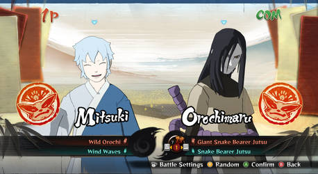 Storm 4 mod - Mitsuki (No Headband)