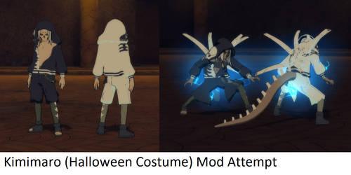 Storm 4 mod attempt - Halloween Kimimaro by ChakraWarrior2012