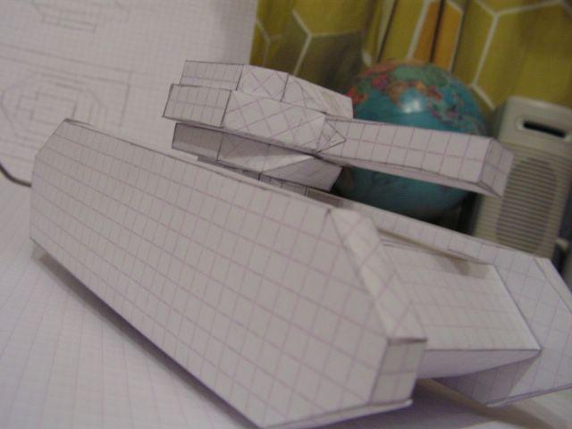 Paper tank, Papierowy czolg